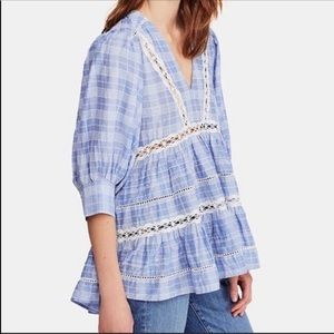 NWT Free People Time Out Cotton Tunic